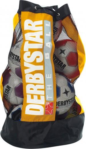 Derbystar Ballsack gelb für 10 Bälle