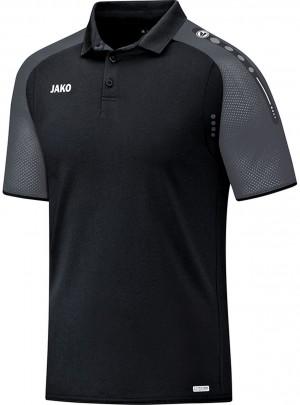 Jako Herren Poloshirt Polo Champ schwarz anthrazit 6317