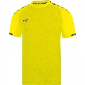 Jako Herren Trikot Prestige KA light yellow/anthrazit 4209