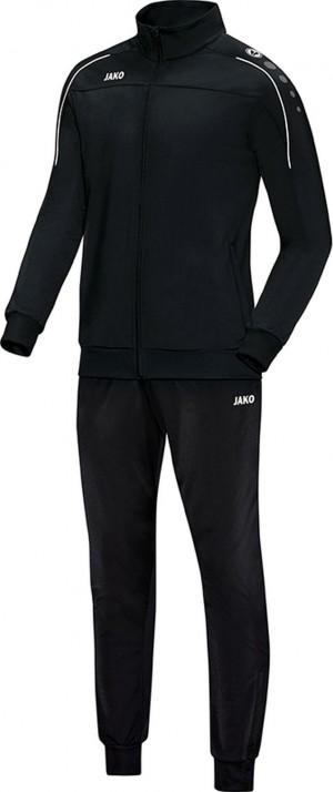 Jako Trainingsanzug Classico schwarz Polyesteranzug Jogginganzug