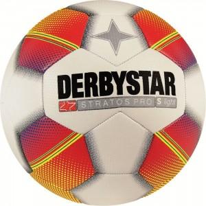 10x Fußball Derbystar Stratos Pro S-Light 290g Gr.3 Gr.4