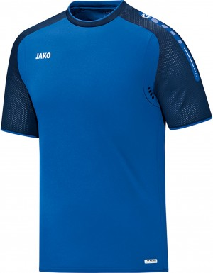 Jako Herren T-Shirt Champ royal marine blau