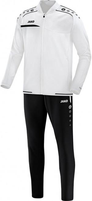 Jako Herren Trainingsanzug Prestige Clubjacke weiß/schwarz M8158