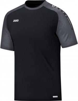 Jako Herren T-Shirt Champ schwarz anthrazit