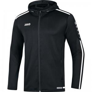 Jako Kinder Trainingsjacke Kapuzenjacke Striker 2.0 schwarz/weiß 6819