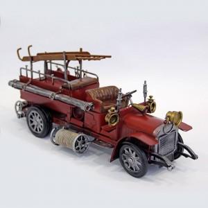 Modellauto Feuerwehrauto Schlauchwagen Historisches Feuerwehrfahrzeug