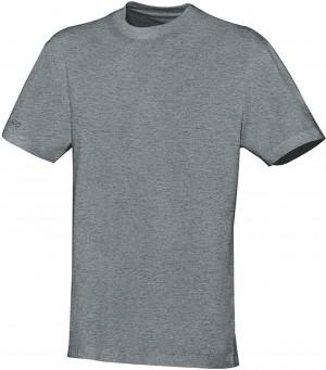 Jako Kinder T-Shirt Team grau meliert Baumwolle 6133