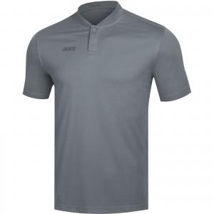 Jako Damen Poloshirt Polo Prestige steingrau 6358