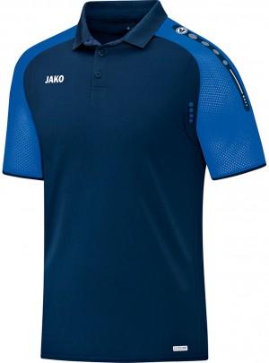 Jako Herren Poloshirt Polo Champ marine royal blau 6317