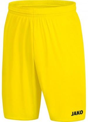 Jako Herren Sporthose Short Manchester 2.0 citro - 4400