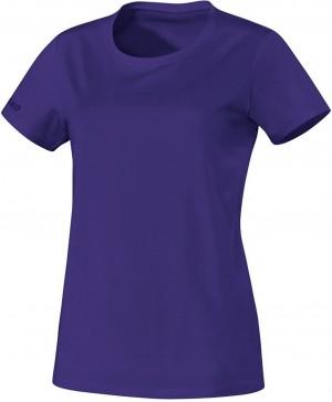 Jako Damen T-Shirt Team lila 100% Baumwolle 6133