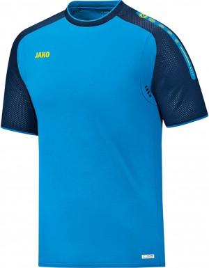 Jako Herren T-Shirt Champ JAKO blau marine neongelb