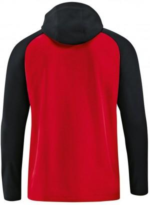 Jako Damen Trainingsjacke Kapuzenjacke Competition 2.0 rot/schwarz 6818