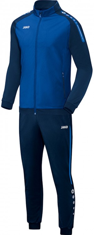 Jako Kinder Polyesteranzug Trainingsanzug Champ royal blau M9117