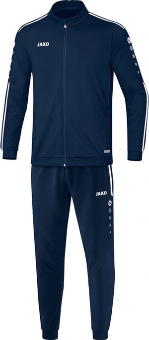 Jako Kinder Trainingsanzug Striker 2.0 marine/weiß M9119
