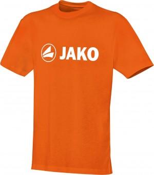 Jako Baumwolle T-Shirt Promo neonorange 6163