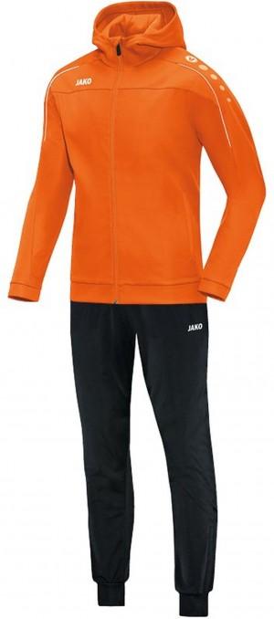 Jako Kinder Kapuzen Trainingsanzug Classico neonorange orange Jogginganzug