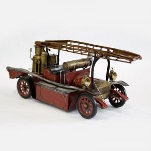 Modellauto Feuerwehrauto Stirling-Auto Historisches Feuerwehrfahrzeug