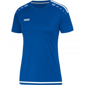 Jako Damen Trikot Striker 2.0 royal/weiß Kurzarm KA 4219