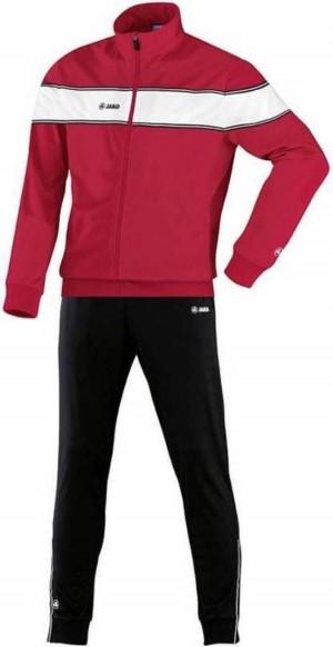 Jako Kinder Polyesteranzug Trainingsanzug Player Gr.116 rot