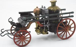 Feuerwehr-Fuhrwerk Historisches Feuerwehrfahrzeug