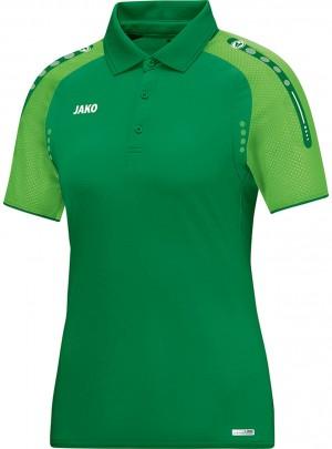 Jako Damen Poloshirt Polo Champ sportgrün soft green grün 6317