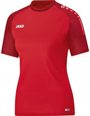 Jako Damen T-Shirt Champ rot dunkelrot