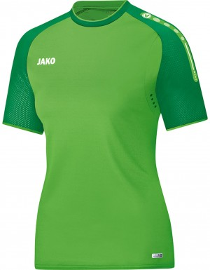 Jako Damen T-Shirt Champ soft green sportgrün grün