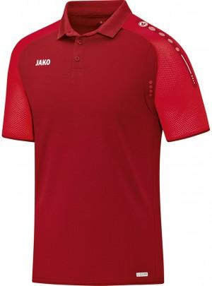 Jako Herren Poloshirt Polo Champ dunkelrot rot 6317