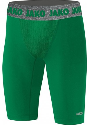 Jako Kinder Short Tight Compression 2.0 sportgrün grün - 8551