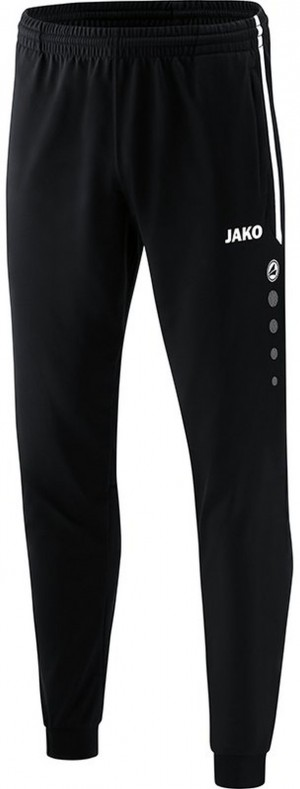 Jako Kinder Polyesterhose Trainingshose Competition 2.0 schwarz weiß 9218