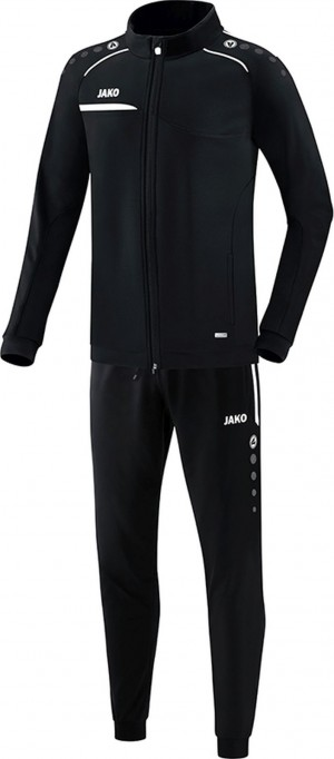Jako Herren Jogginganzug Trainingsanzug Prestige schwarz/weiß M9158