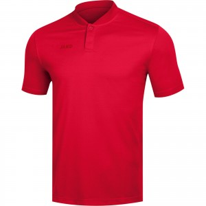 Jako Damen Poloshirt Polo Prestige rot 6358