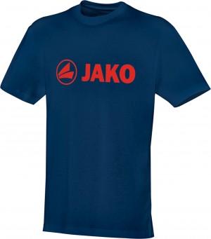 Jako Baumwolle T-Shirt Promo nightblue/flame 6163