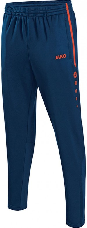 Jako Jogginghose Trainingshose Active navy/flame 8495
