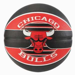 Spalding Basketball NBA Team Ball Chicago Bulls Gr.7