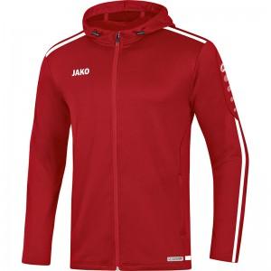Jako Kinder Trainingsjacke Kapuzenjacke Striker 2.0 chili rot/weiß 6819