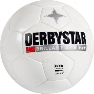 Derbystar Fußball Brillant APS Weiß