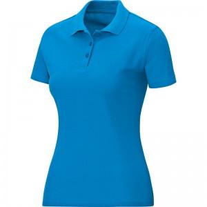 Jako Damen Baumwolle Polo Team JAKO blau 6333