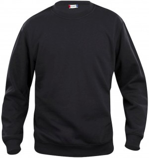 Clique Sweatshirt Roundneck Sweat Basic schwarz