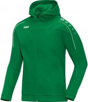 Jako Kinder Trainingsjacke Kapuzenjacke Classico sportgrün grün 6850