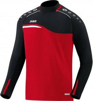 Jako Sweatshirt Sweat Competition 2.0 rot/schwarz 8818