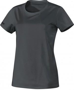 Jako Damen T-Shirt Team anthrazit 100% Baumwolle 6133