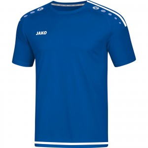 Jako Kinder Trikot Striker 2.0 royal/weiß Kurzarm KA 4219