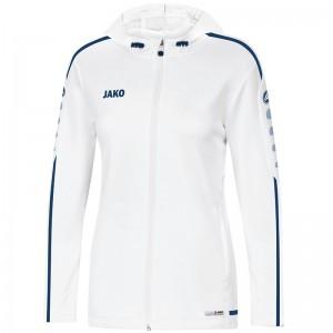 Jako Damen Trainingsjacke Kapuzenjacke Striker 2.0 weiß/marine 6819