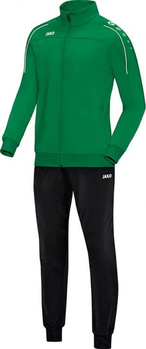 Jako Kinder Trainingsanzug Classico sportgrün grün Polyesteranzug Jogginganzug