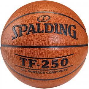 Spalding TF 250 Basketball Composite Leder Größe 7