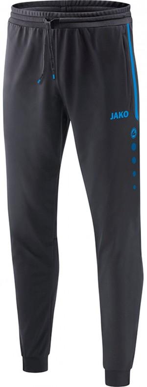 Jako Kinder Jogginghose Trainingshose Prestige anthrazit/JAKO blau anthrazit 9258