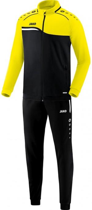 Jako Kinder Trainingsanzug Competition 2.0 schwarz/neongelb M9118