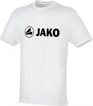 Jako Baumwolle T-Shirt Promo weiß 6163